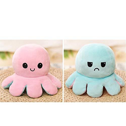 Plüschtier Oktopus Stimmungs Oktopus Kuscheltier Octopus plüschtier für Mädchen, für Frauen, für Kinder und die Ihre Laune ausdrücken...