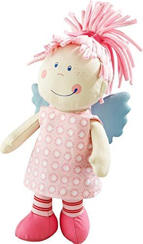 HABA HA-158 3951 - Schutzengel Tine, weiche Stoffpuppe für Kinder von 0-5 Jahren zum Spielen und Kuscheln, Prima Geschenk zur Geburt, Taufe...