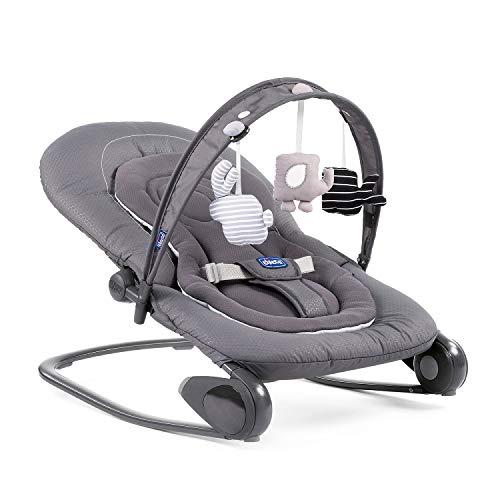 Chicco Hopplà Babywippe von Geburt bis 18 kg, Für Neugeborene oder Kleinkinder, Babyschaukel und Babystuhl, Mit Spielbogen und...
