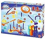 Ecoiffier - Outdoor Spielset - 7 verschiedene Spiele, ideal für Kindergeburtstage, Frisbee, Golf, angeln, Ringwurfspiel, Ball werfen,...