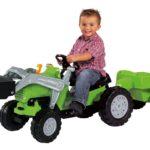 Der Trettraktor – lustiger Tretspaß für Kinder ab 3 Jahren