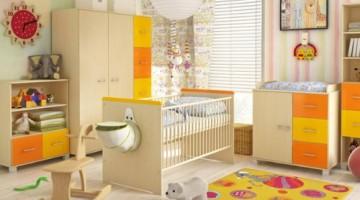Babyzimmer komplett 4tlg