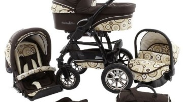 Ferriley & Fitz Filipo 3 in 1 Kinderwagen