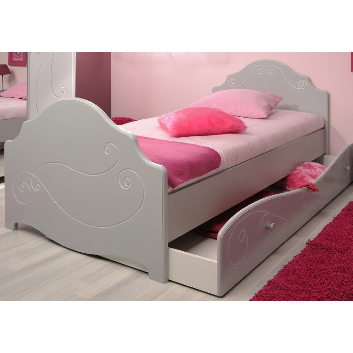 kinderbett mit schublade infos und vergleich. Black Bedroom Furniture Sets. Home Design Ideas