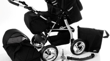 Lux4Kids iCaddy 4 in 1 Kombikinderwagen