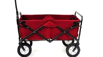 Faltbarer Bollerwagen rot