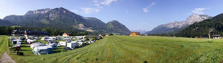 Natur Pur: Campingplatz Gössl am Grundlsee