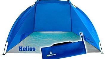 Strandmuschel Outdoorer Helios blau