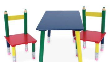 Kindersitzgruppe Bleistift Design