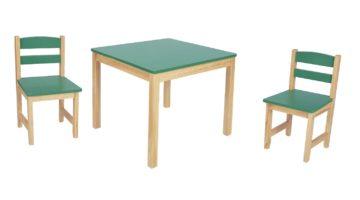Spielmöbel Sitzecke grün - Kiefer