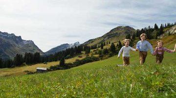Sommerurlaub für die ganze Familie am Arlberg